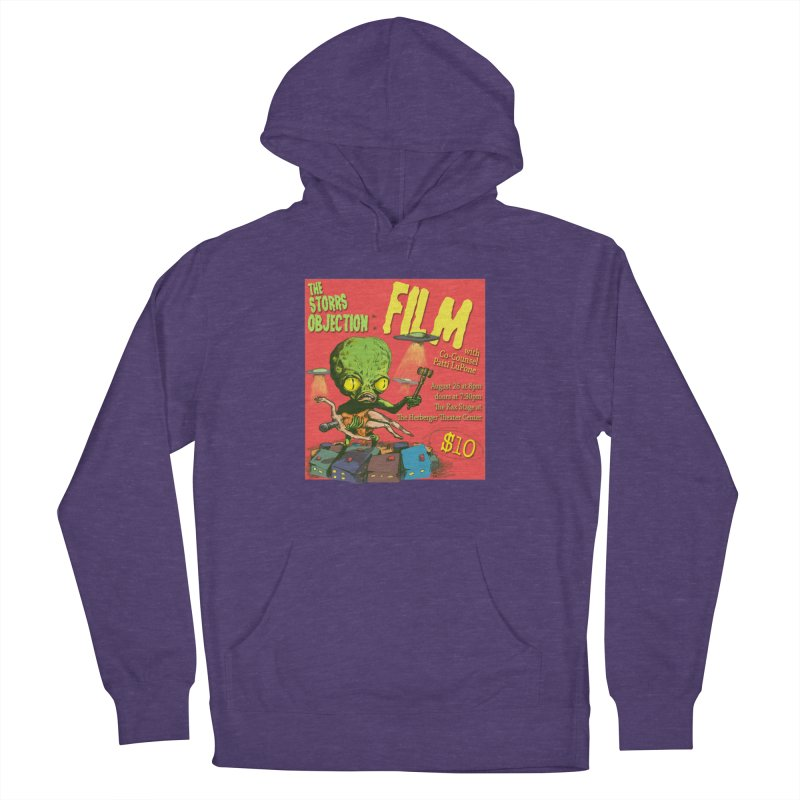The Storrs Objection: Film Women's French Terry Pullover Hoody by PEP's Artist Shop