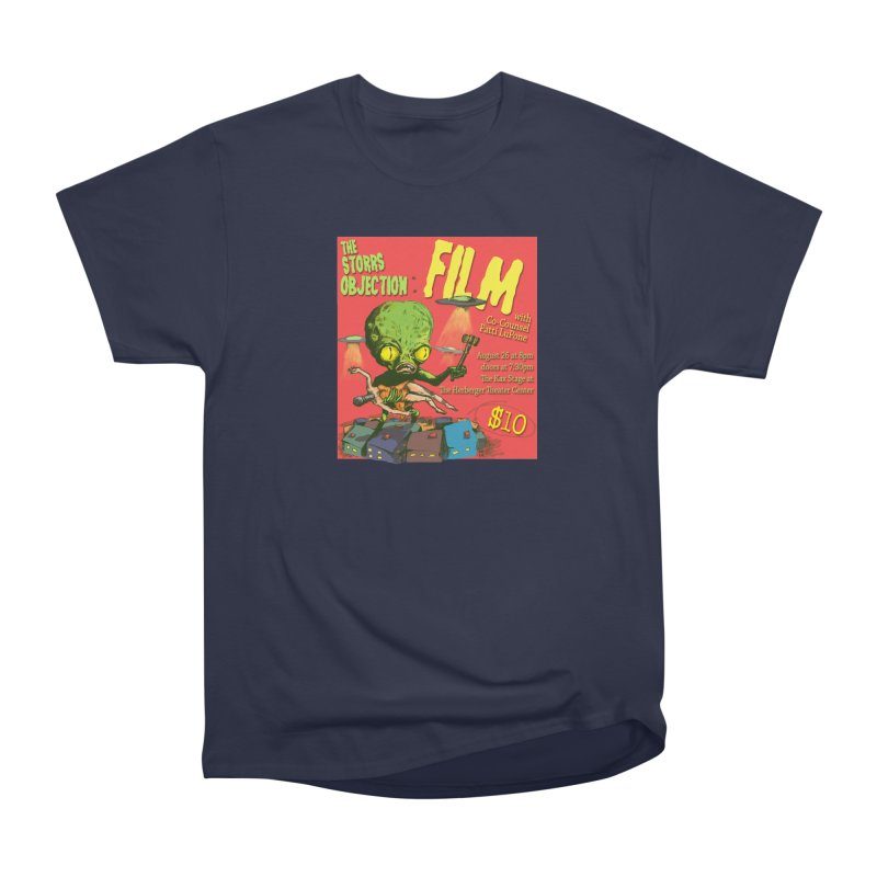 The Storrs Objection: Film Men's Heavyweight T-Shirt by PEP's Artist Shop