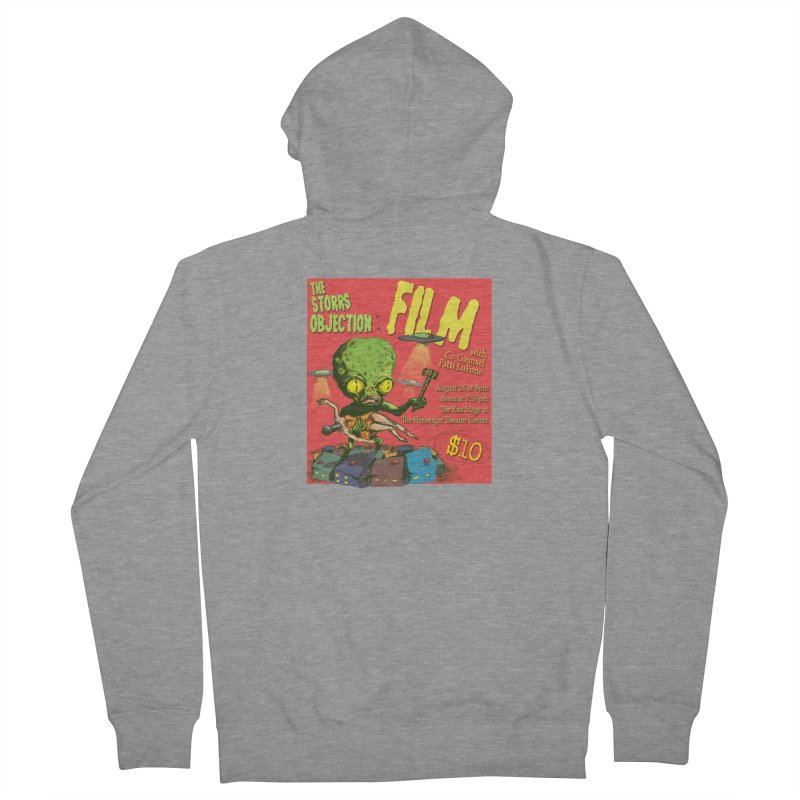 The Storrs Objection: Film Women's French Terry Zip-Up Hoody by PEP's Artist Shop