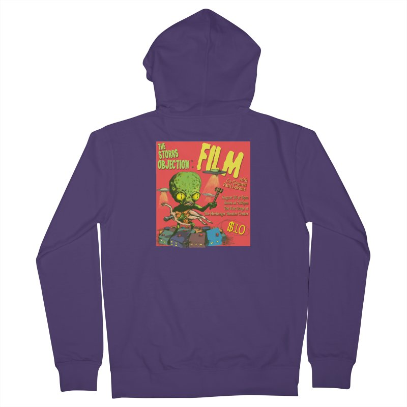 The Storrs Objection: Film Women's Zip-Up Hoody by PEP's Artist Shop