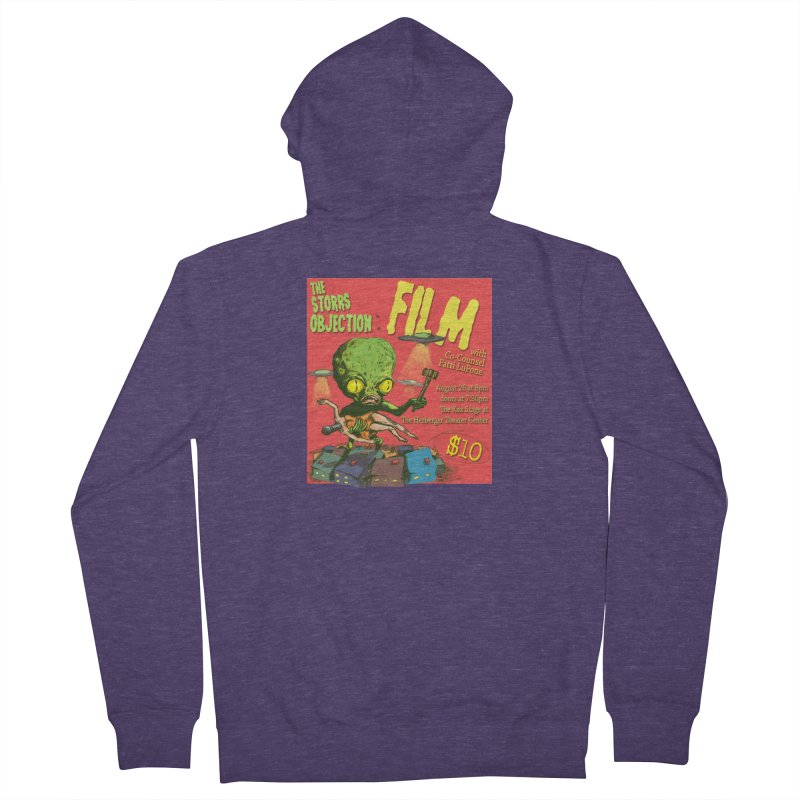 The Storrs Objection: Film Men's French Terry Zip-Up Hoody by PEP's Artist Shop