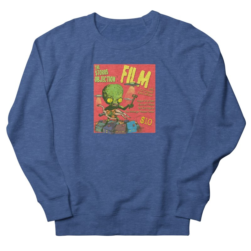 The Storrs Objection: Film Men's French Terry Sweatshirt by PEP's Artist Shop