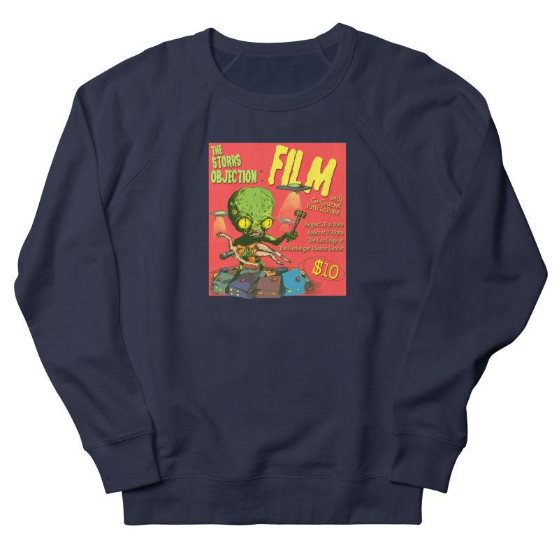 The Storrs Objection: Film Men's Sweatshirt by PEP's Artist Shop