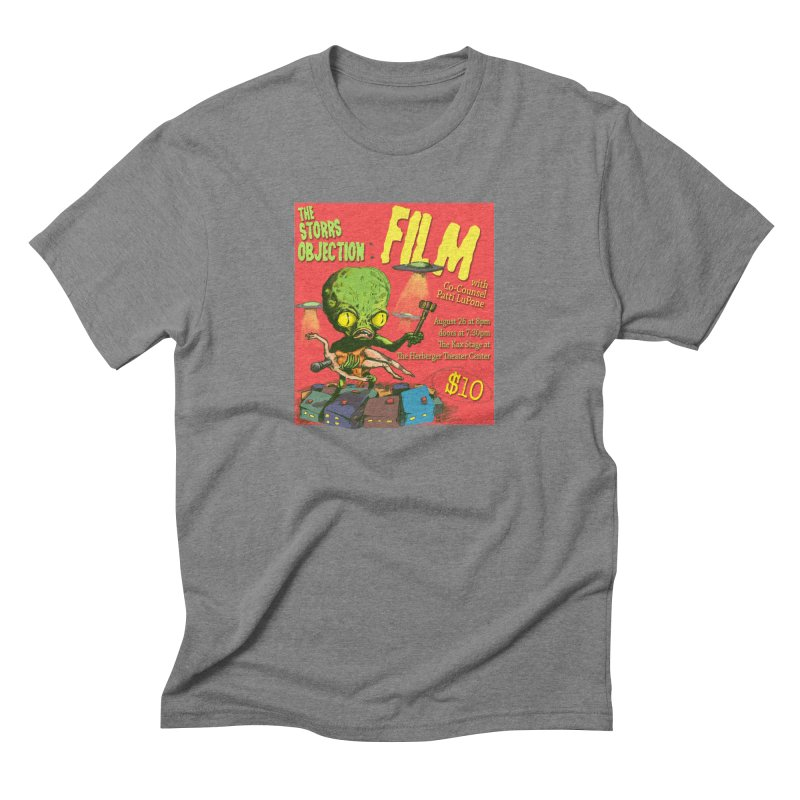 The Storrs Objection: Film Men's Triblend T-Shirt by PEP's Artist Shop