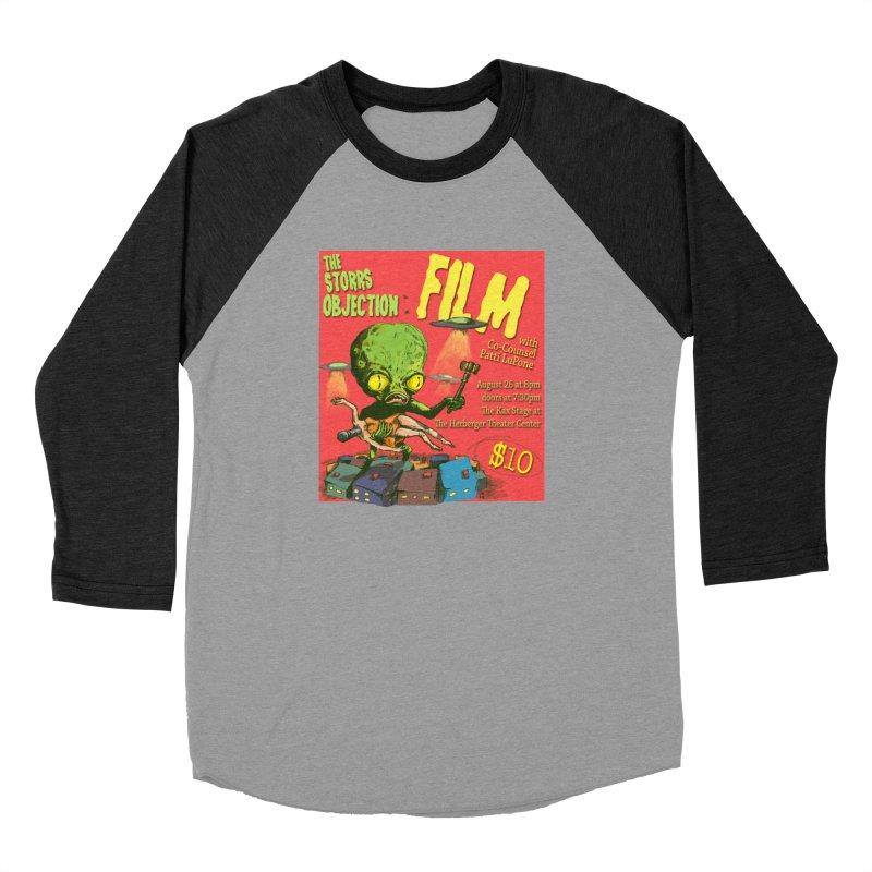 The Storrs Objection: Film Women's Baseball Triblend T-Shirt by PEP's Artist Shop