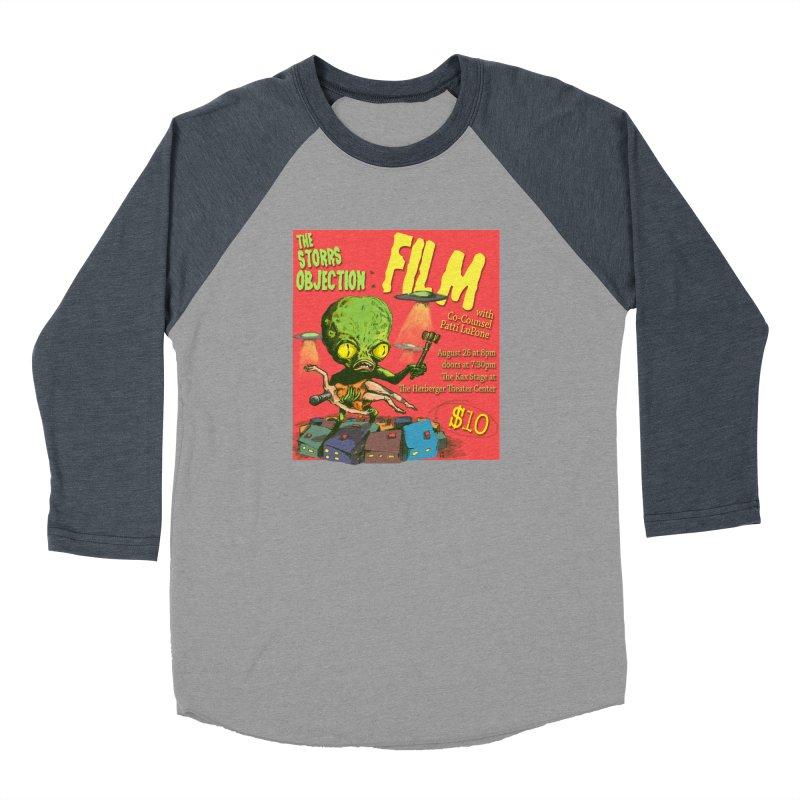 The Storrs Objection: Film Women's Baseball Triblend Longsleeve T-Shirt by PEP's Artist Shop
