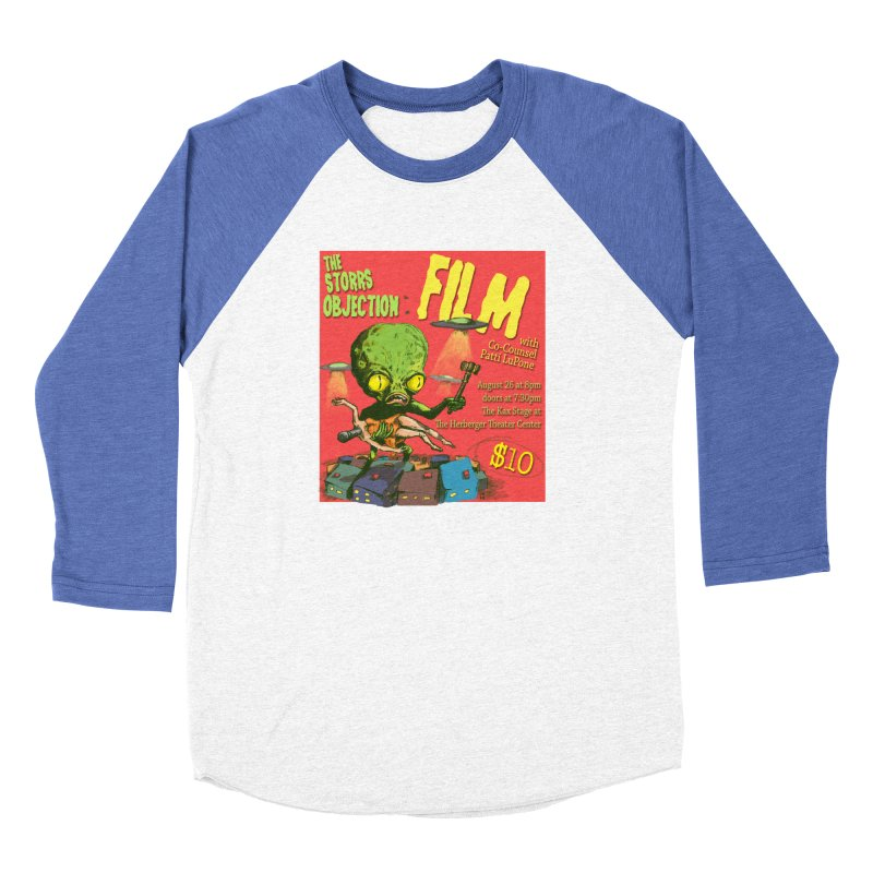 The Storrs Objection: Film Men's Baseball Triblend T-Shirt by PEP's Artist Shop