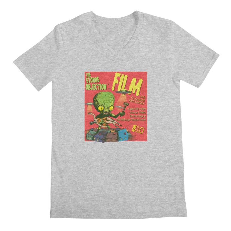 The Storrs Objection: Film Men's Regular V-Neck by PEP's Artist Shop