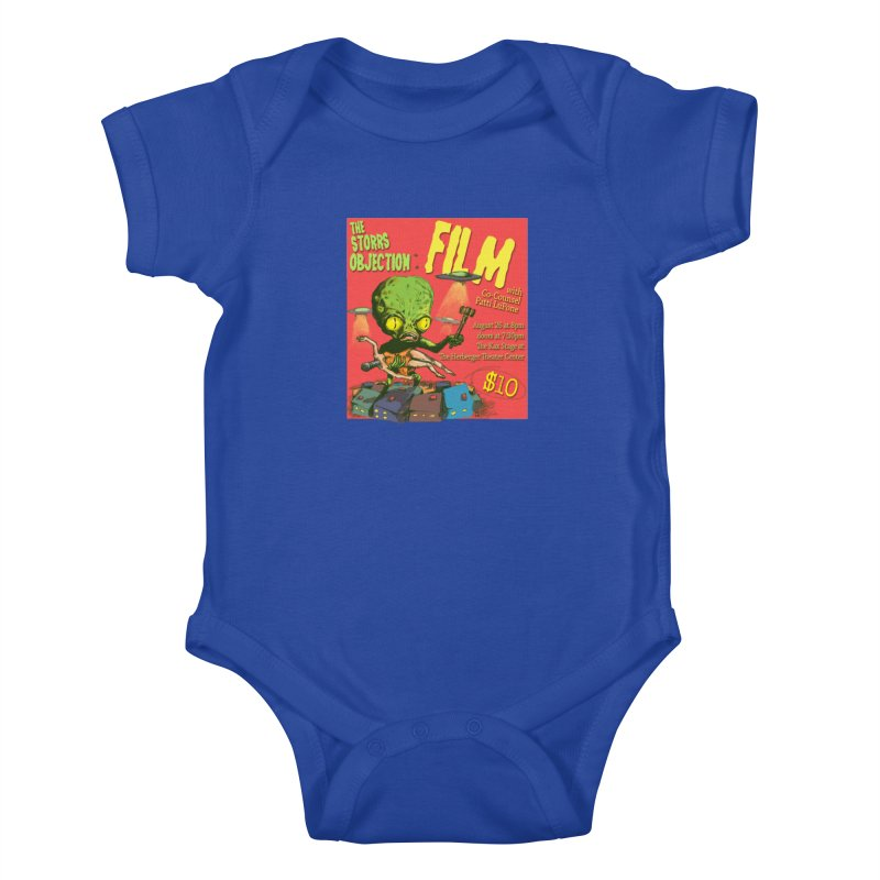The Storrs Objection: Film Kids Baby Bodysuit by PEP's Artist Shop