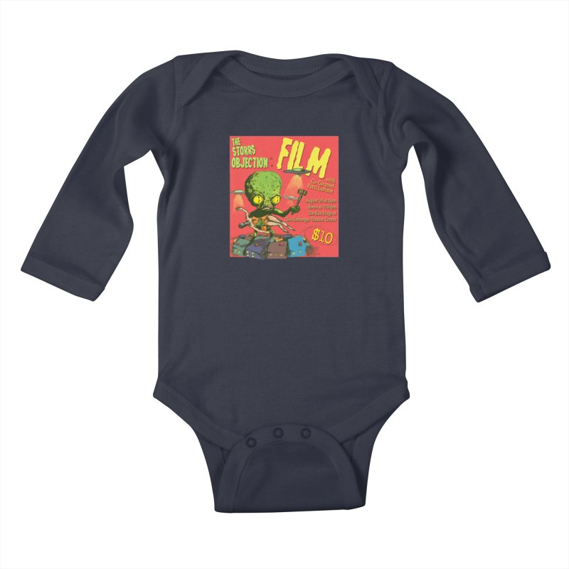 The Storrs Objection: Film Kids Baby Longsleeve Bodysuit by PEP's Artist Shop