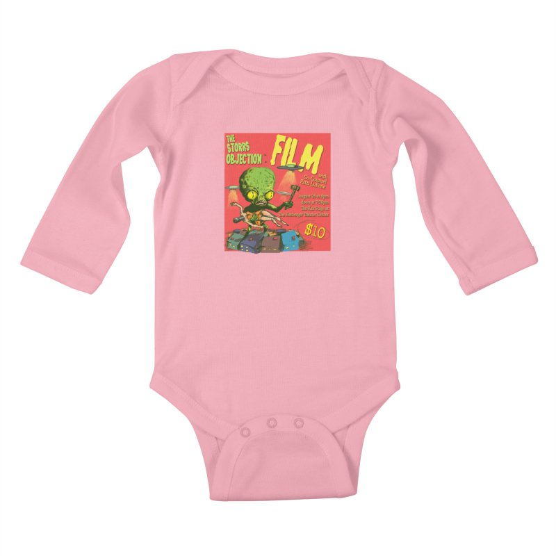 The Storrs Objection: Film Kids Baby Longsleeve Bodysuit by PEP's Artist Shop