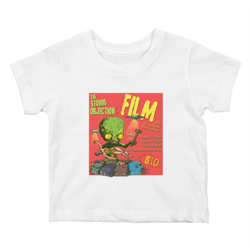 The Storrs Objection: Film Kids Baby T-Shirt by PEP's Artist Shop