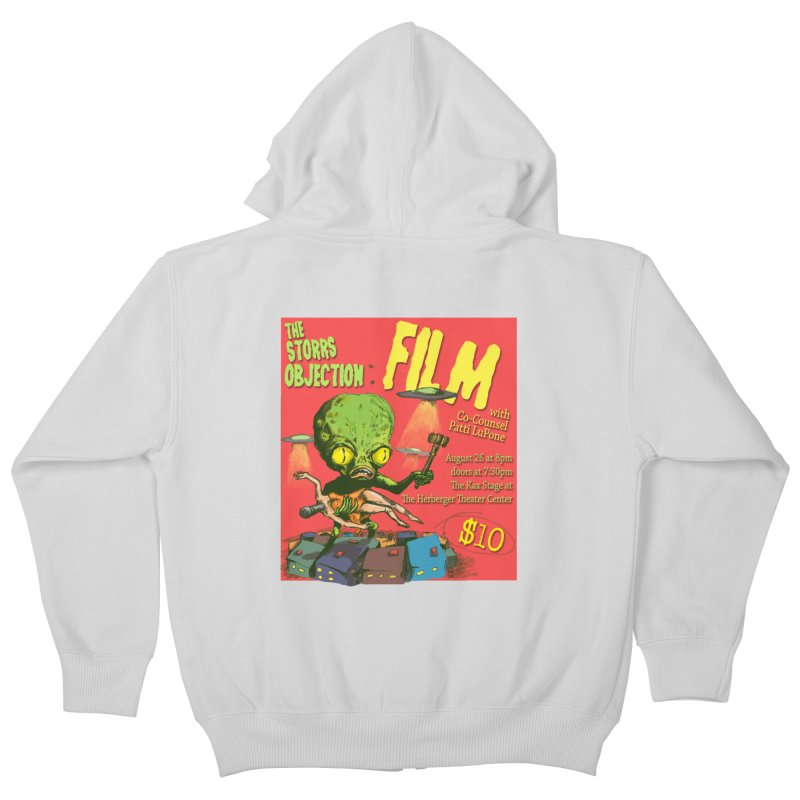 The Storrs Objection: Film Kids Zip-Up Hoody by PEP's Artist Shop