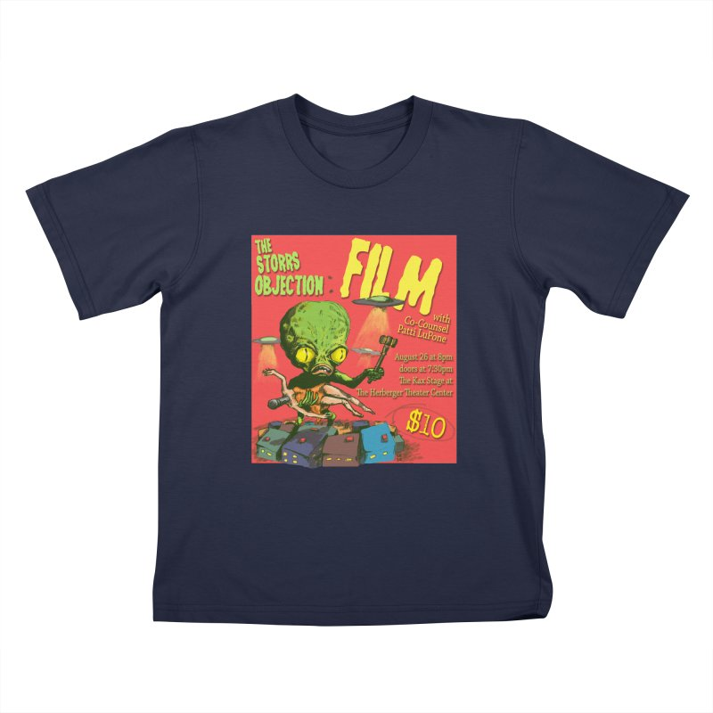 The Storrs Objection: Film Kids T-Shirt by PEP's Artist Shop