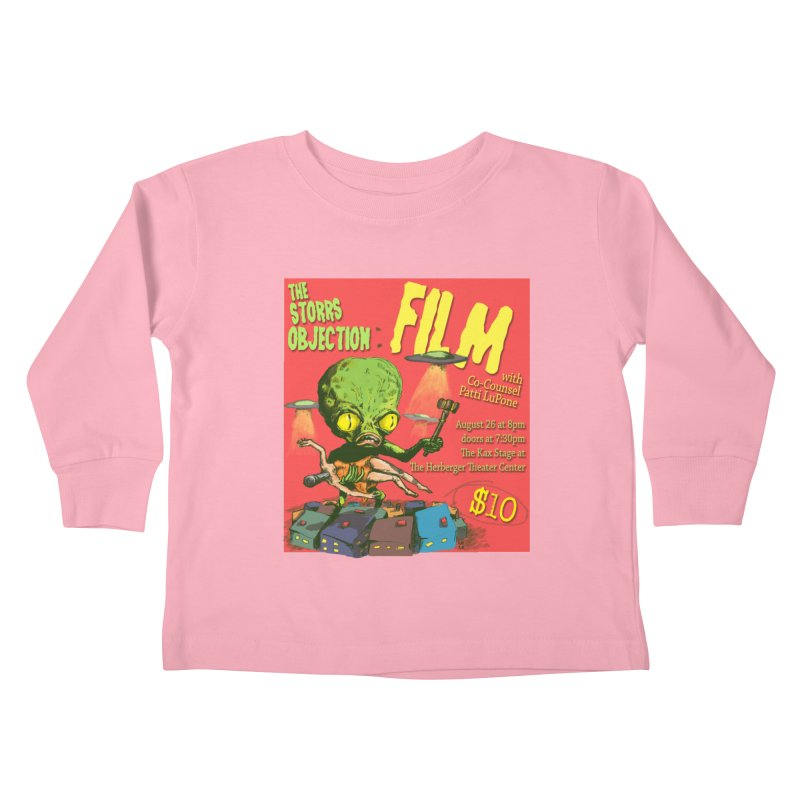 The Storrs Objection: Film Kids Toddler Longsleeve T-Shirt by PEP's Artist Shop