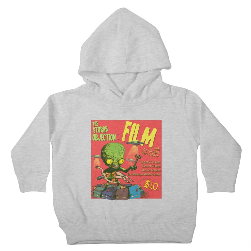 The Storrs Objection: Film Kids Toddler Pullover Hoody by PEP's Artist Shop