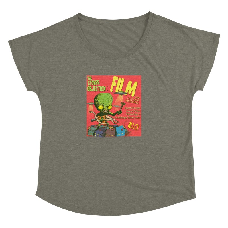 The Storrs Objection: Film Women's Dolman Scoop Neck by PEP's Artist Shop