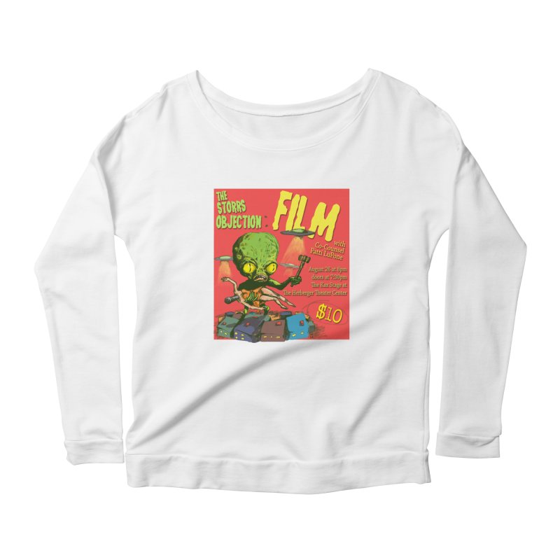 The Storrs Objection: Film Women's Longsleeve Scoopneck  by PEP's Artist Shop