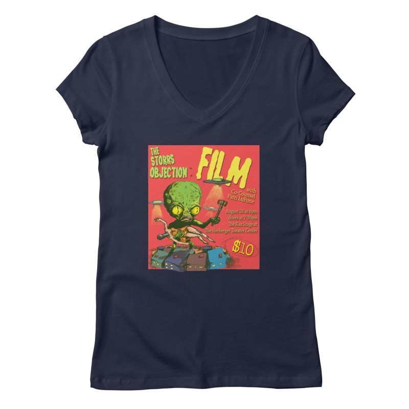 The Storrs Objection: Film Women's V-Neck by PEP's Artist Shop