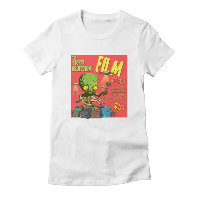 The Storrs Objection: Film Women's Fitted T-Shirt by PEP's Artist Shop