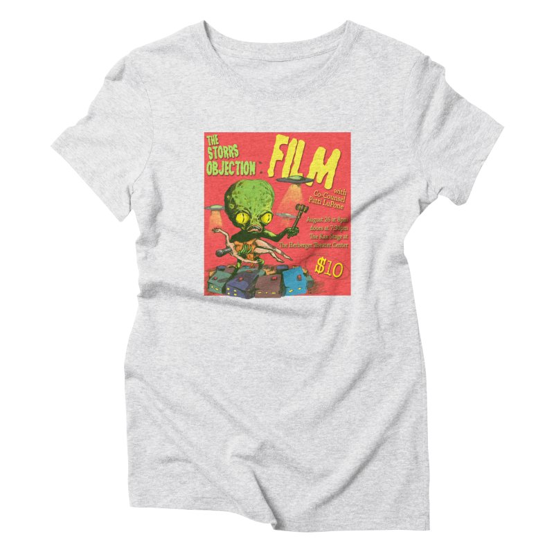 The Storrs Objection: Film Women's Triblend T-shirt by PEP's Artist Shop