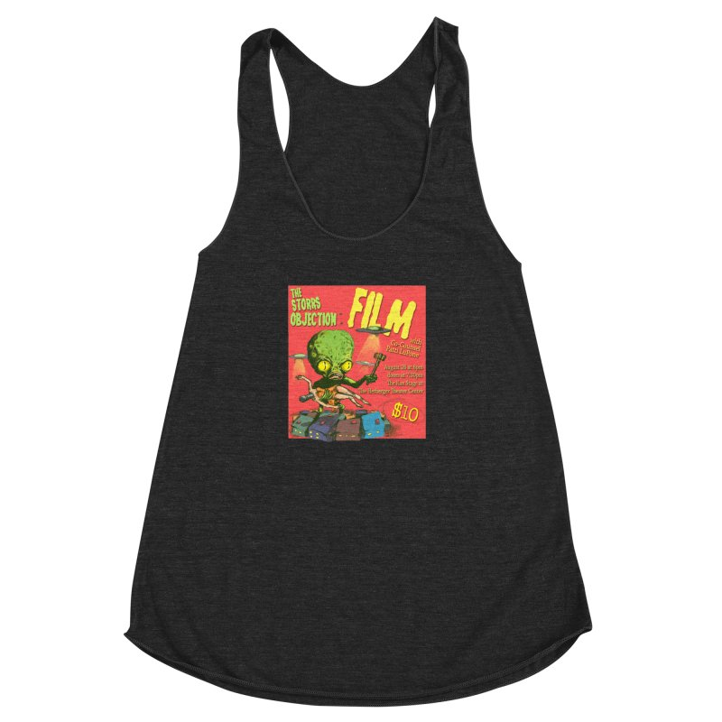The Storrs Objection: Film Women's Racerback Triblend Tank by PEP's Artist Shop