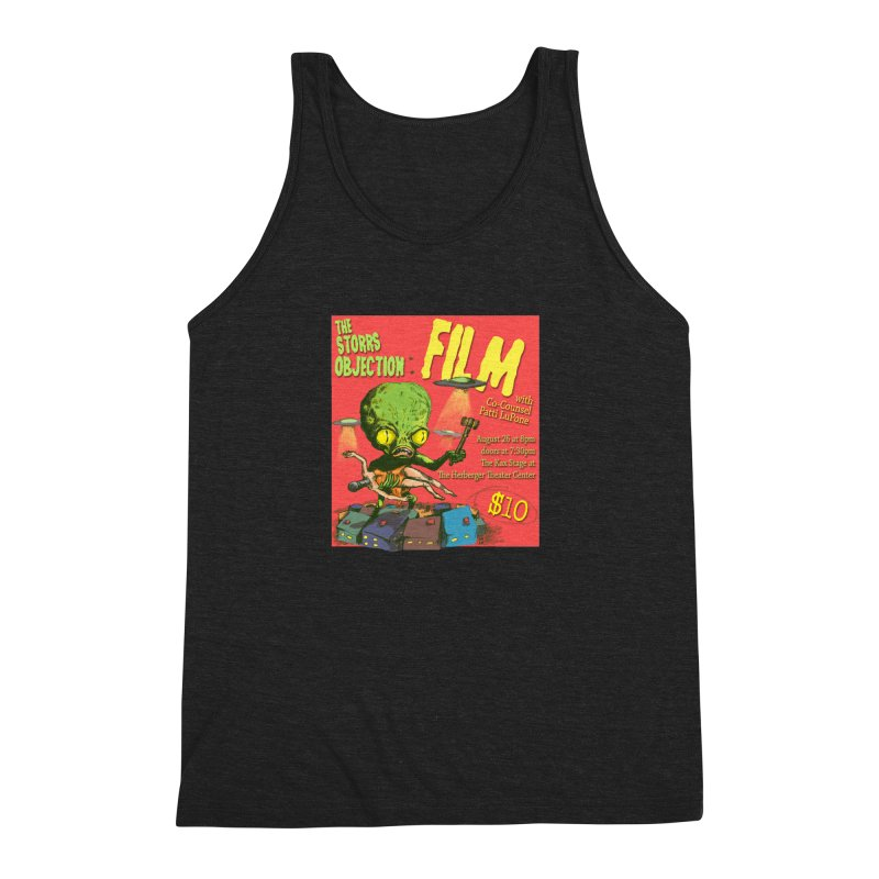 The Storrs Objection: Film Men's Triblend Tank by PEP's Artist Shop