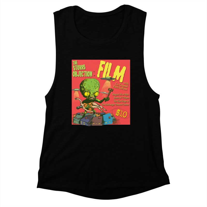 The Storrs Objection: Film Women's Muscle Tank by PEP's Artist Shop