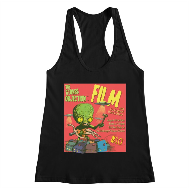 The Storrs Objection: Film Women's Racerback Tank by PEP's Artist Shop