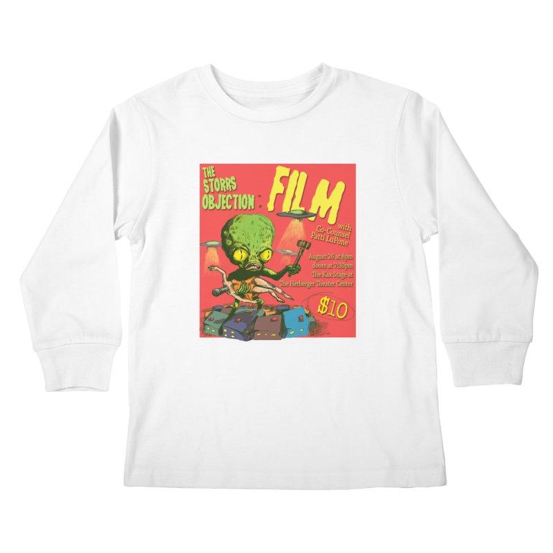 The Storrs Objection: Film Kids Longsleeve T-Shirt by PEP's Artist Shop
