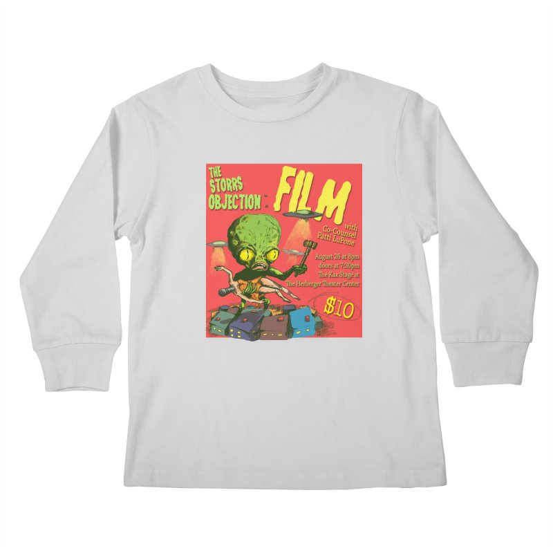 The Storrs Objection: Film Kids Longsleeve T-Shirt by PEP's Artist Shop
