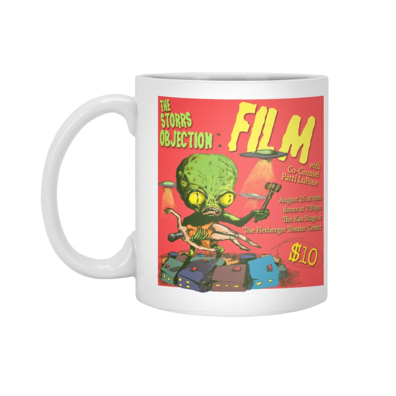 The Storrs Objection: Film Accessories Standard Mug by PEP's Artist Shop