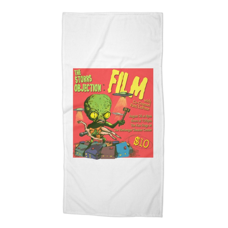 The Storrs Objection: Film Accessories Beach Towel by PEP's Artist Shop