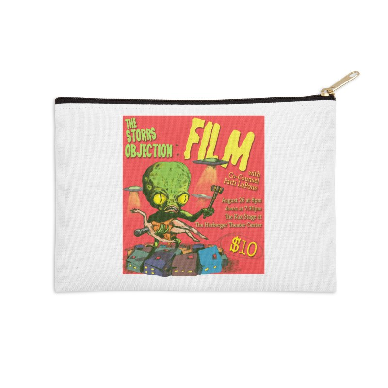 The Storrs Objection: Film Accessories Zip Pouch by PEP's Artist Shop