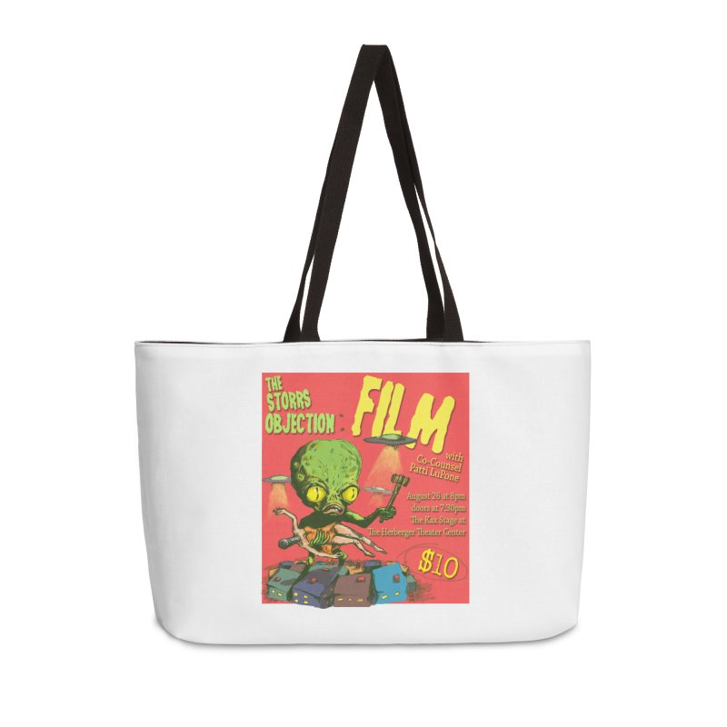 The Storrs Objection: Film Accessories Weekender Bag Bag by PEP's Artist Shop