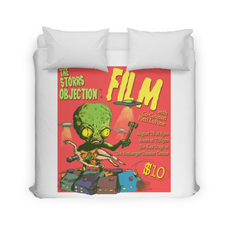 The Storrs Objection: Film Home Duvet by PEP's Artist Shop
