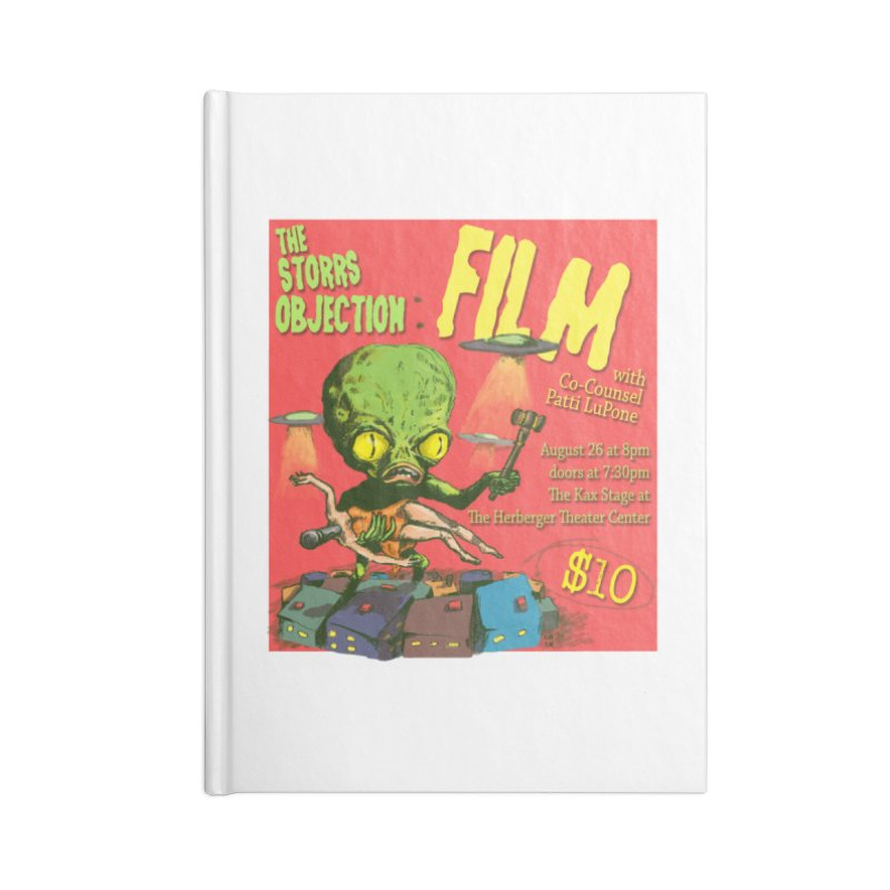 The Storrs Objection: Film Accessories Notebook by PEP's Artist Shop