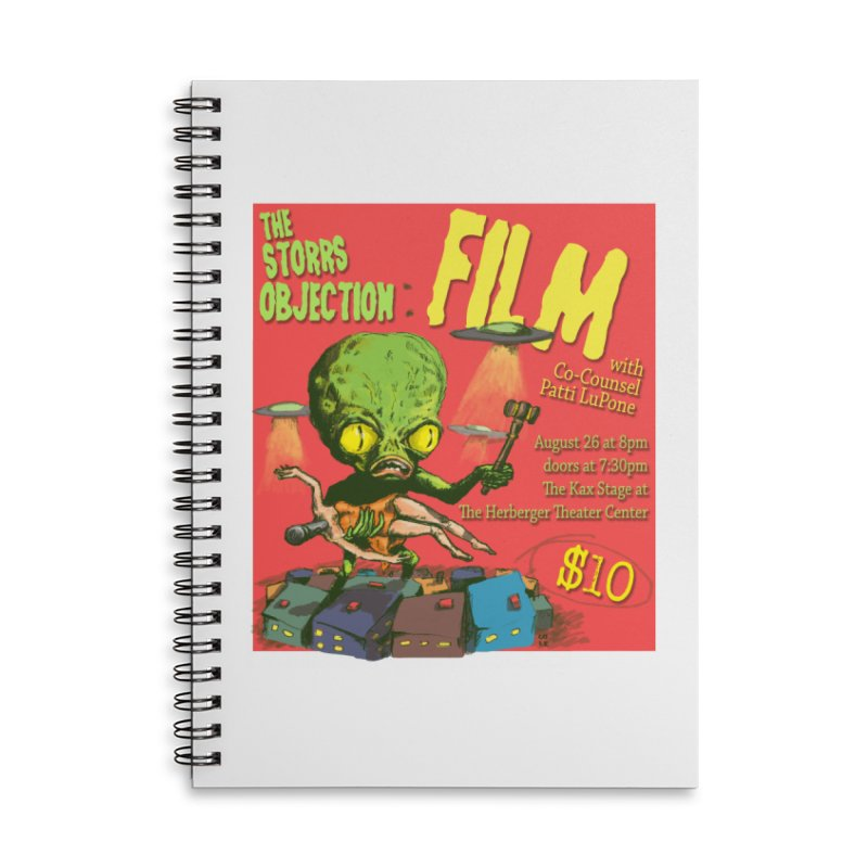 The Storrs Objection: Film Accessories Lined Spiral Notebook by PEP's Artist Shop