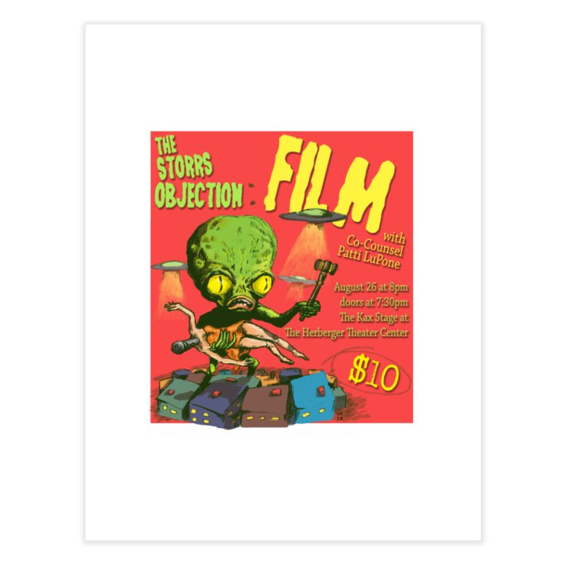 The Storrs Objection: Film Home Fine Art Print by PEP's Artist Shop