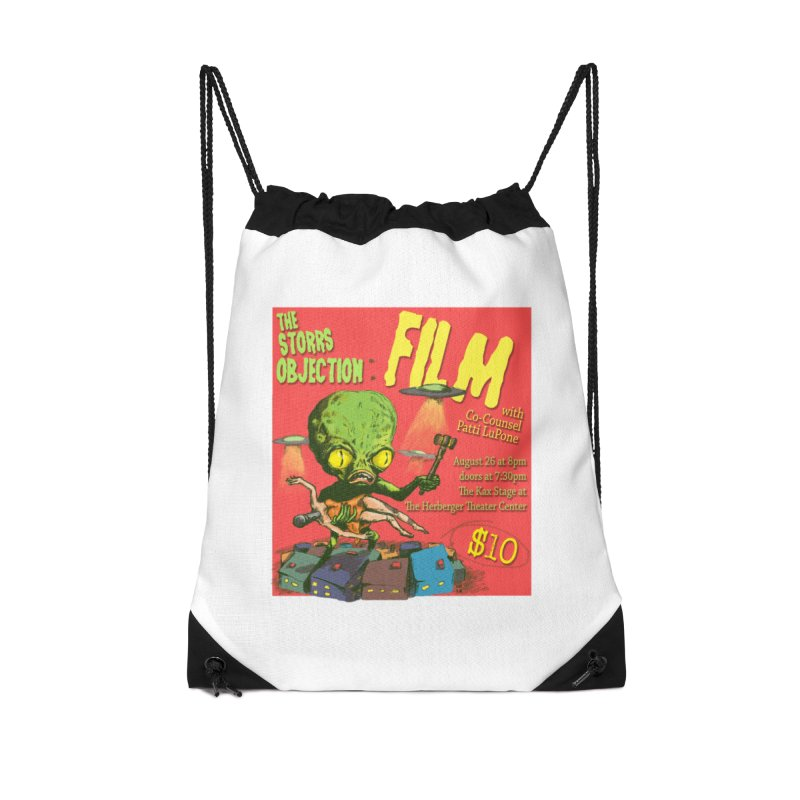 The Storrs Objection: Film Accessories Drawstring Bag Bag by PEP's Artist Shop