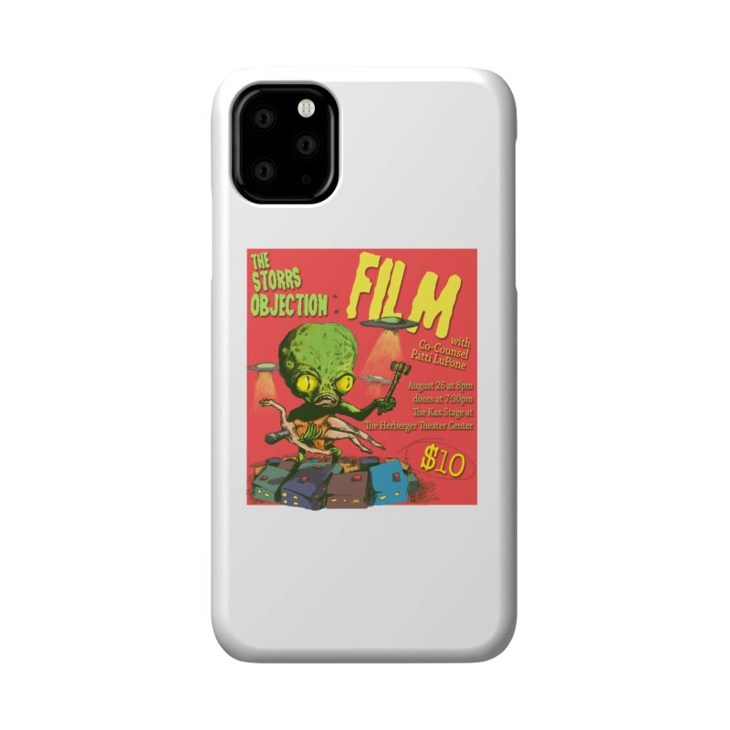 The Storrs Objection: Film Accessories Phone Case by PEP's Artist Shop