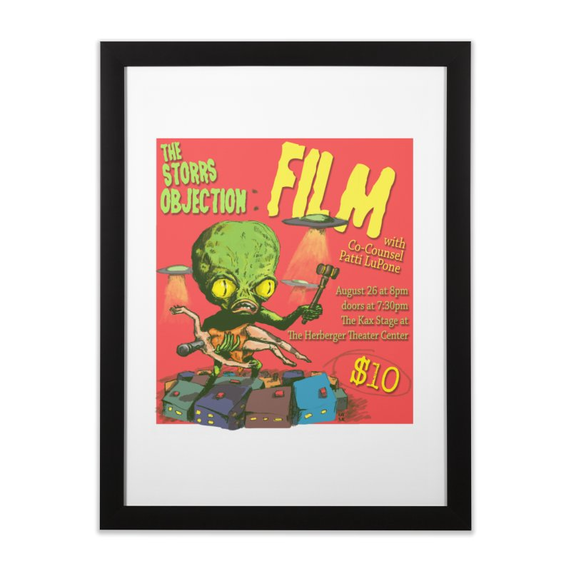 The Storrs Objection: Film Home Framed Fine Art Print by PEP's Artist Shop