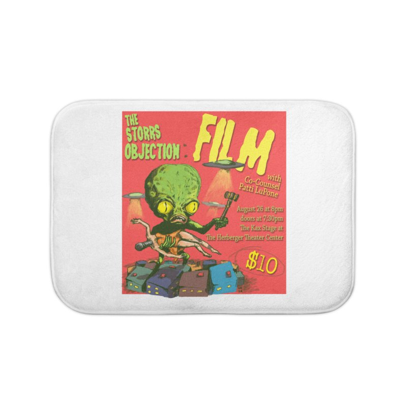 The Storrs Objection: Film Home Bath Mat by PEP's Artist Shop