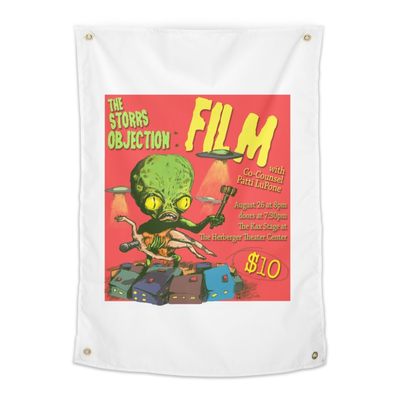 The Storrs Objection: Film Home Tapestry by PEP's Artist Shop