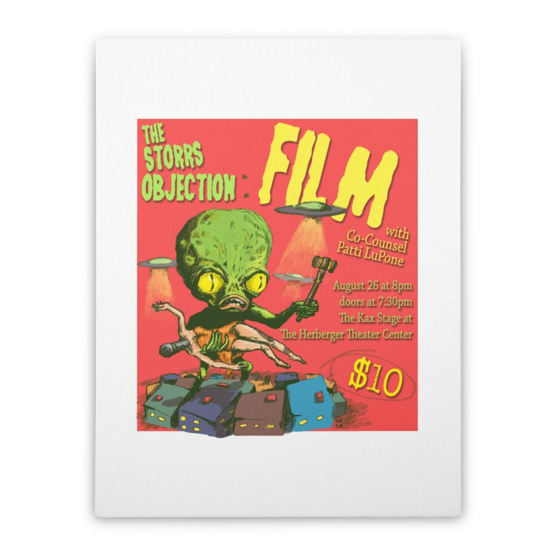 The Storrs Objection: Film Home Stretched Canvas by PEP's Artist Shop