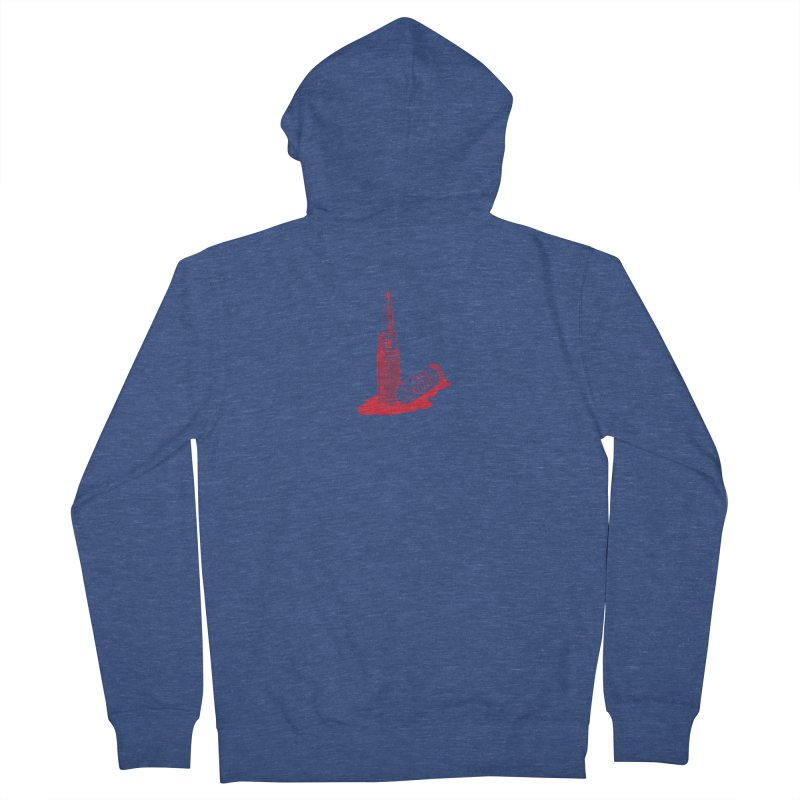 Ladykillers Logo Men's French Terry Zip-Up Hoody by PEP's Artist Shop