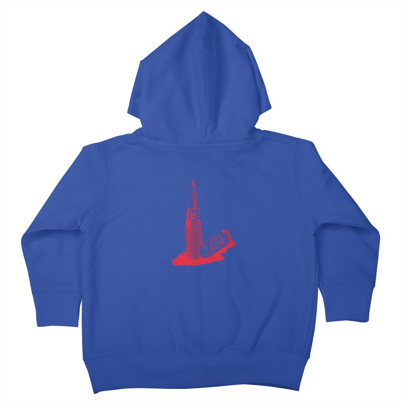 Ladykillers Logo Kids Toddler Zip-Up Hoody by PEP's Artist Shop