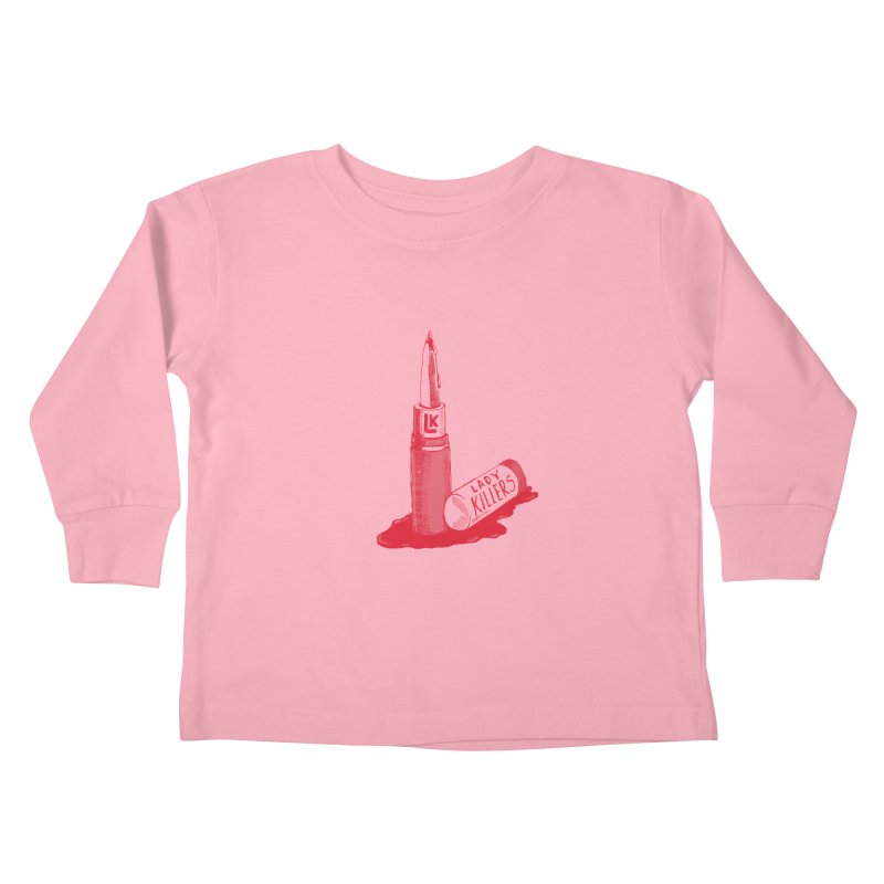 Ladykillers Logo Kids Toddler Longsleeve T-Shirt by PEP's Artist Shop