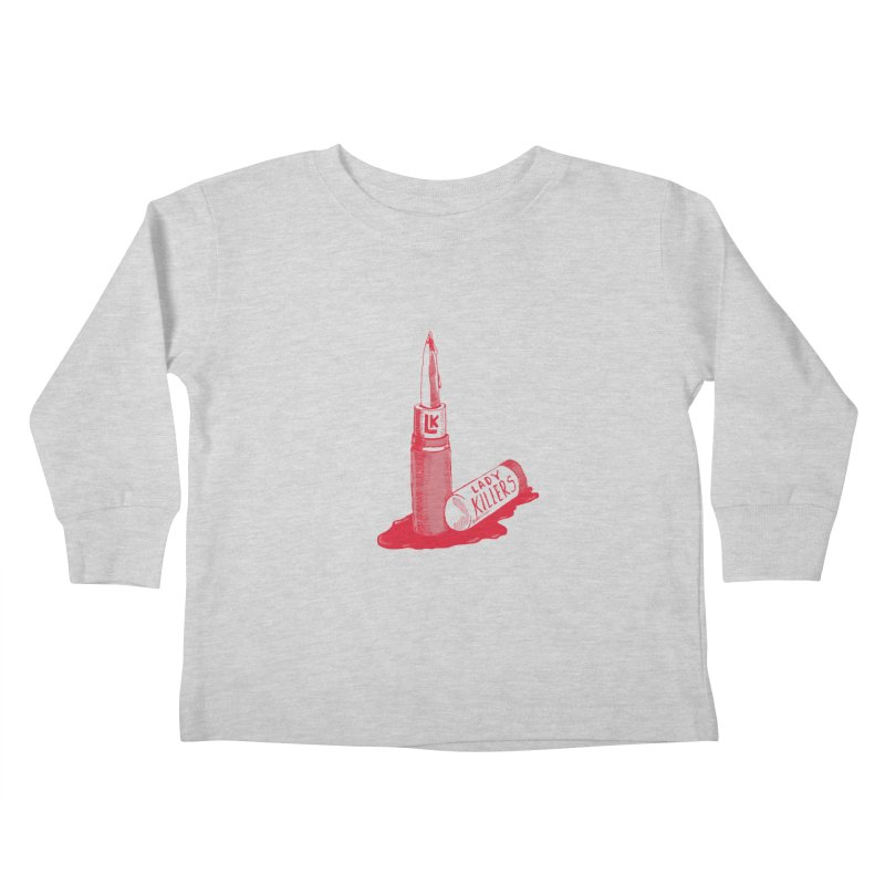 Ladykillers Logo Kids Toddler Longsleeve T-Shirt by PEP's Artist Shop