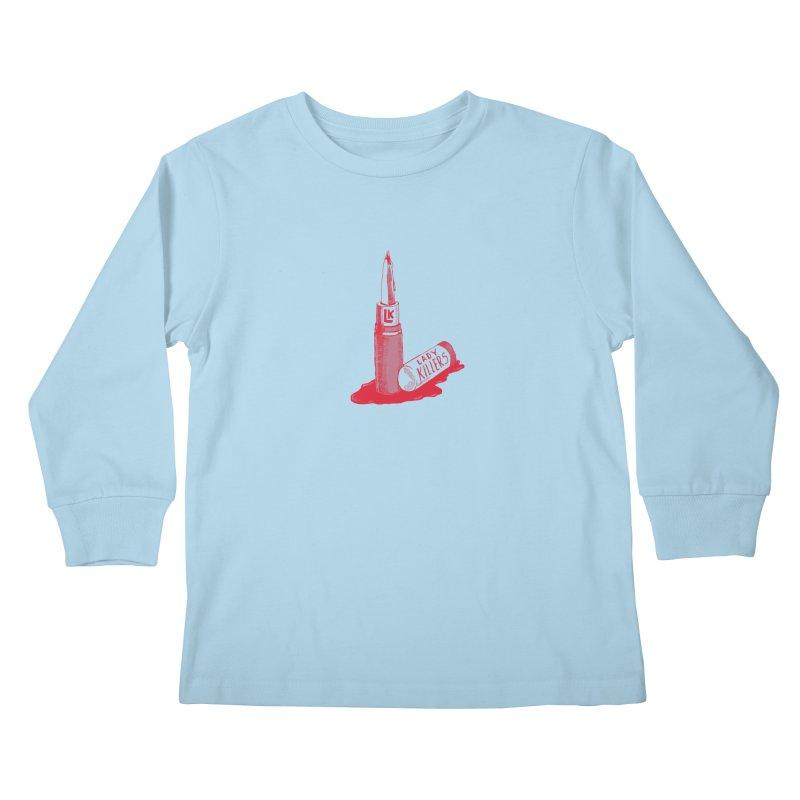 Ladykillers Logo Kids Longsleeve T-Shirt by PEP's Artist Shop